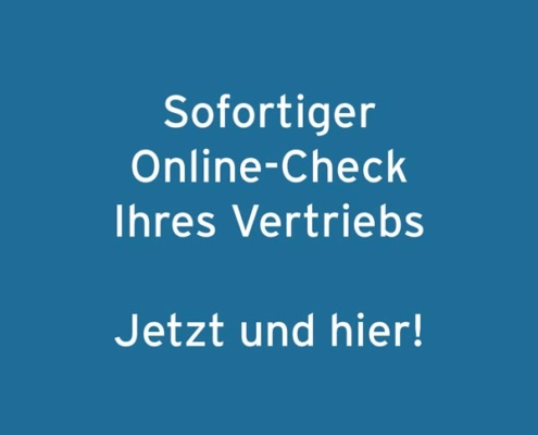 """Thumbnail """"Sofortiger Online-Check Ihres Vertriebs - Jetzt und hier!"""""""