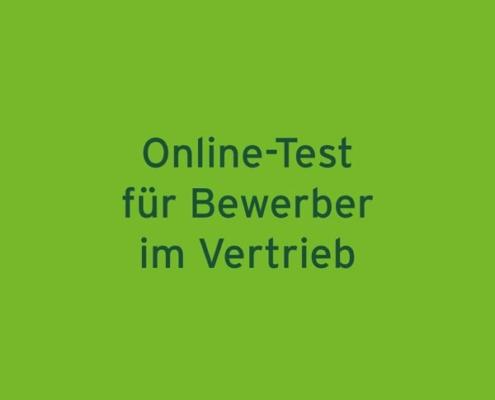 Online-Test für Bewerber im Vertrieb